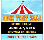 Huge Tent Sale!