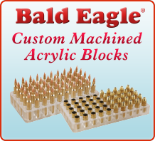 Bald Eagle Acrylic Loading Blocks