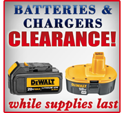 Batteries \u0026 Chargers on Sale