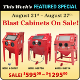 Blast Cabinets Featured Special