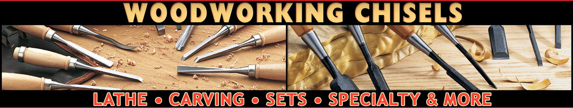 Hundreds of Woodworking Chisels \u0026 Accessories
