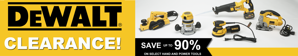 Save Up to 90% Off DeWalt