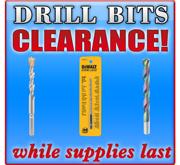 Drill Bit Clearance