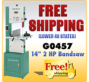 Free Shipping - G0457