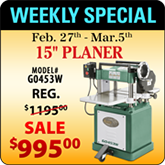 This Weeks Featured Special - G0453W