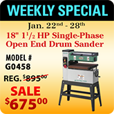 This Weeks Featured Special - G0458