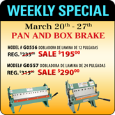 Featured Special Pan and Box