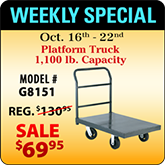 This Weeks Featured Special - G8151