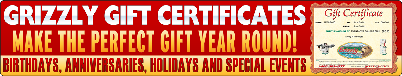 Gift Certicates