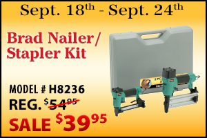 This Weeks Featured Special - outlet