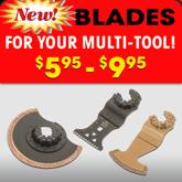 Oscillating blade accessories
