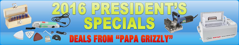 2016 President Specials