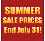 Summer Sale Ends 7/31/16