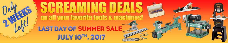 Summer Sale Ends 7/10/17