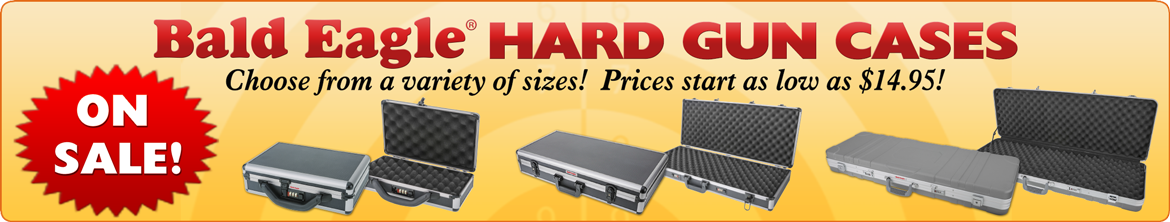 BE Hard Gun Cases on Sale