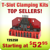 T-Slot Clamping Kits