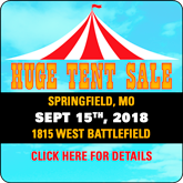 MO2 Tent Sale