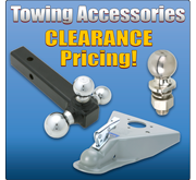 Towing Accessories on Clearance!