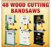 29 Wood Cutting Bandsaws