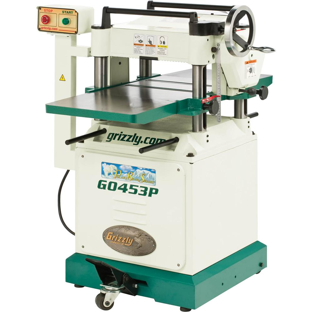 "Grizzly 15"" 3 HP 220V Planer, Polar Bear Series� at Sears.com"