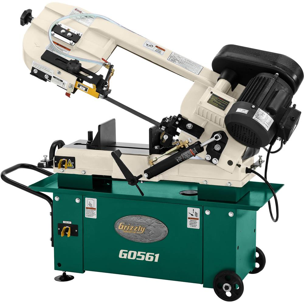 "Grizzly 7"" x 12"" Metal Cutting Bandsaw at Sears.com"