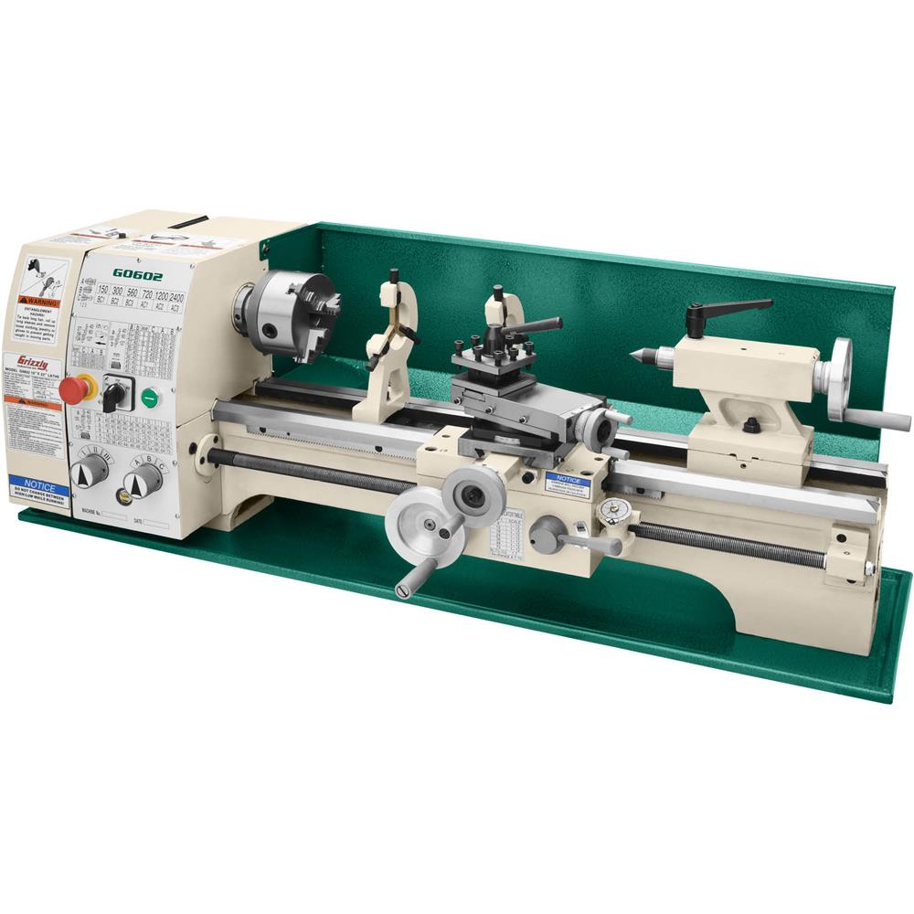 """Grizzly 10"""" x 22"""" Bench Top Metal Lathe at Sears.com"""