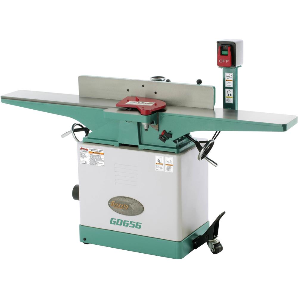 "Grizzly 8"" x 72"" Jointer with Mobile Base at Sears.com"