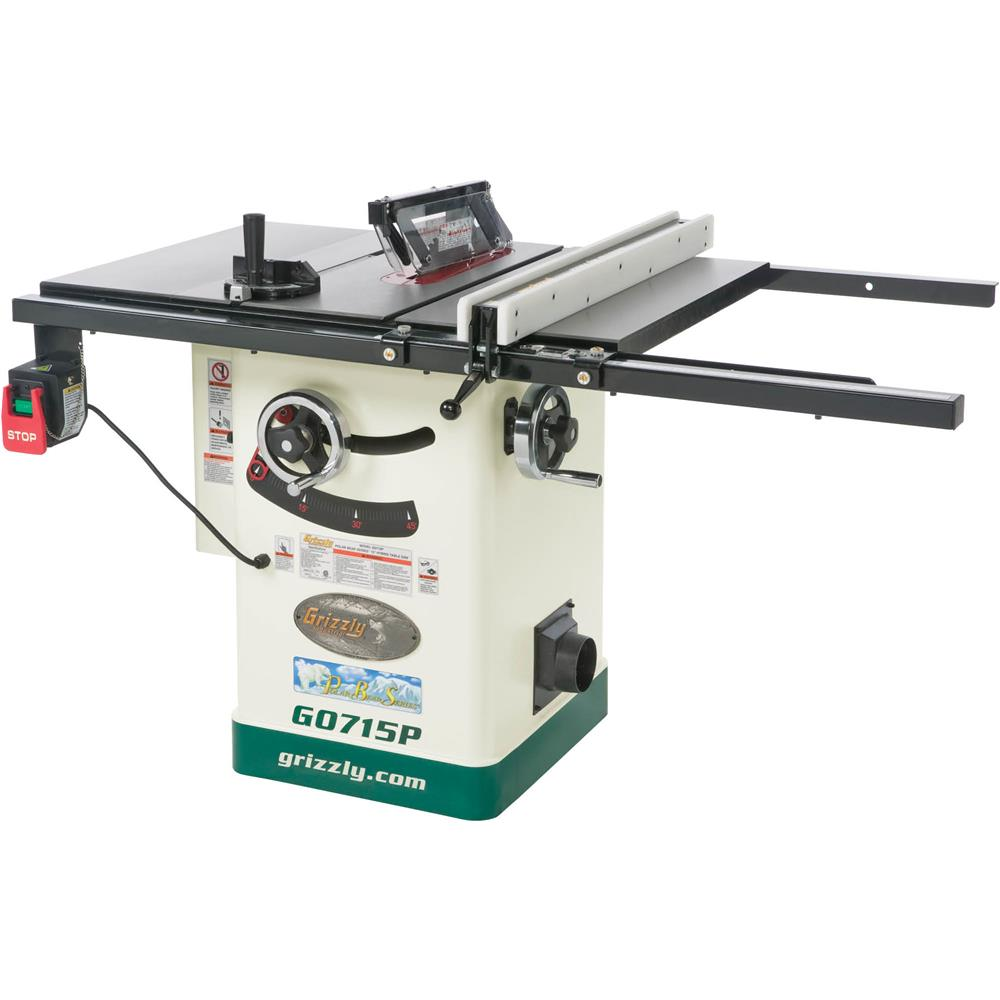 "Grizzly 10"" Hybrid Table Saw with Riving Knife, Polar Bear Series� at Sears.com"