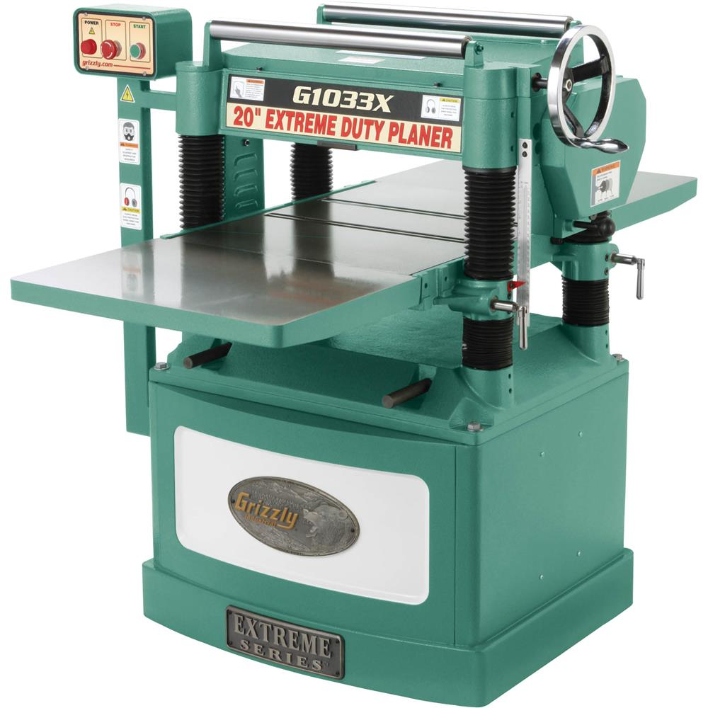 """Grizzly 20"""" 5 HP Spiral Cutterhead Planer at Sears.com"""