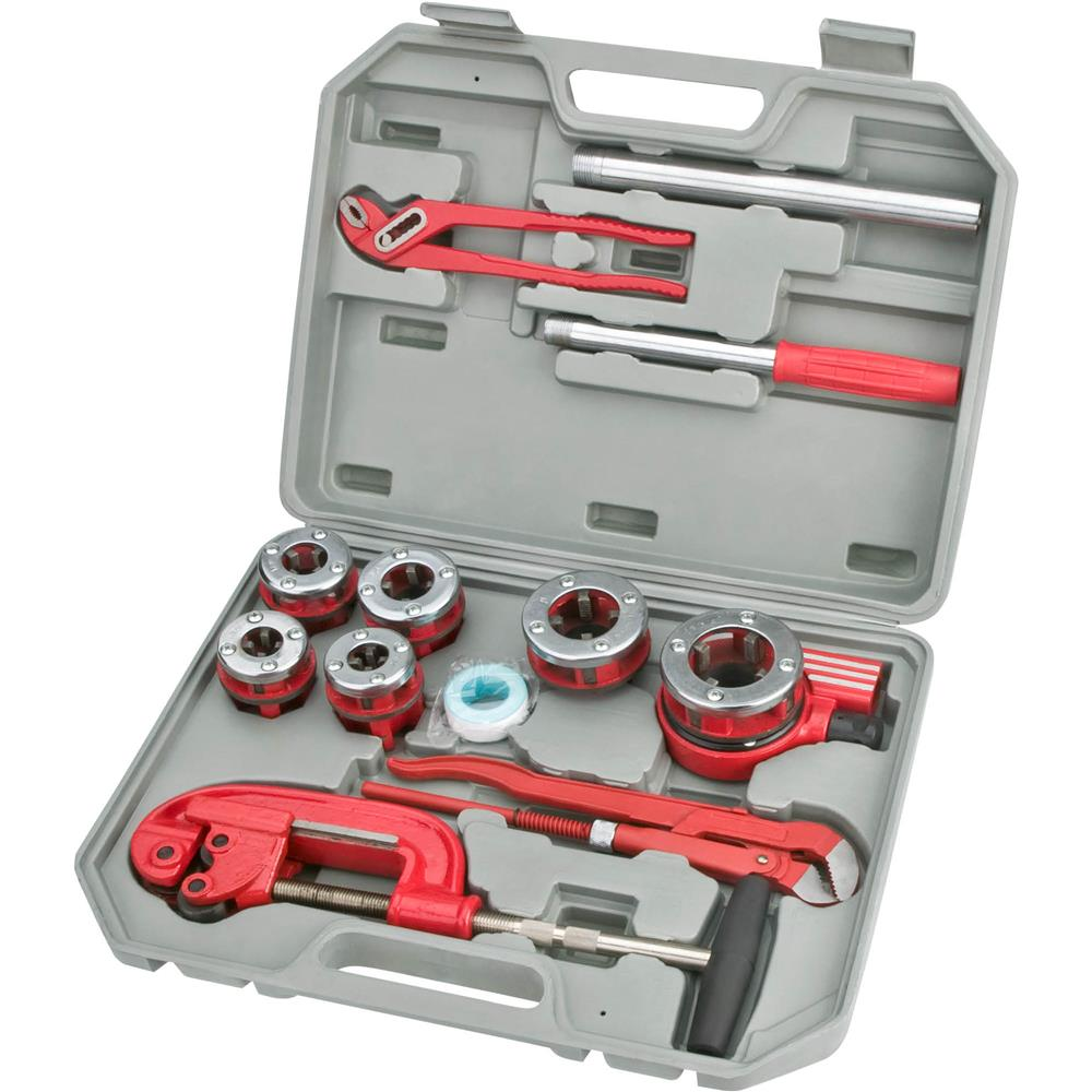 Grizzly 12-Pc. Plumbing / Threading Kit at Sears.com