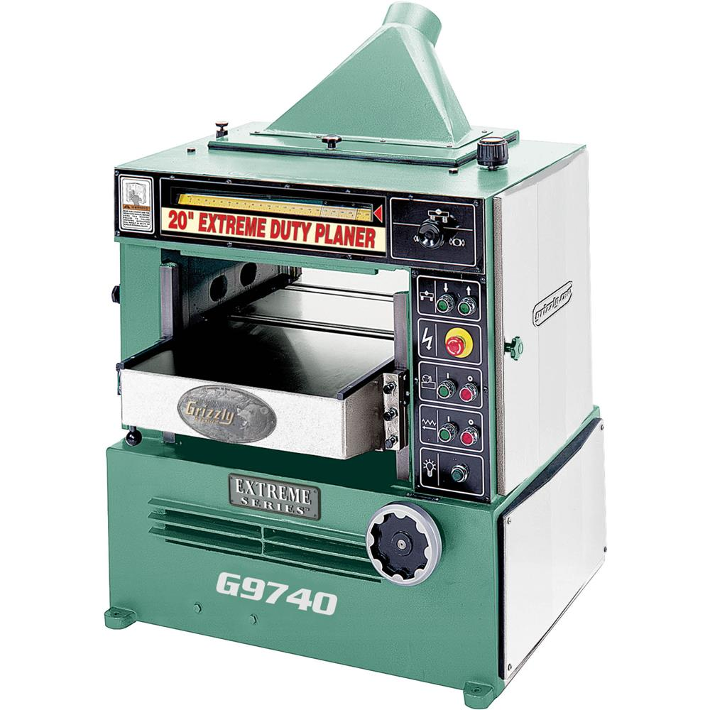 "Grizzly 20"" Planer w/ 7-1/2 HP 3-Phase Motor at Sears.com"