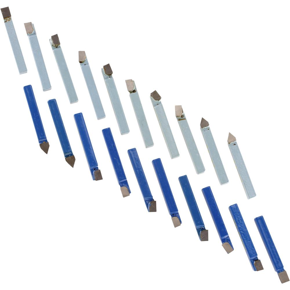 "Grizzly Carbide-Tipped Tool Bit Sets - 1/4"" 20 pc. at Sears.com"