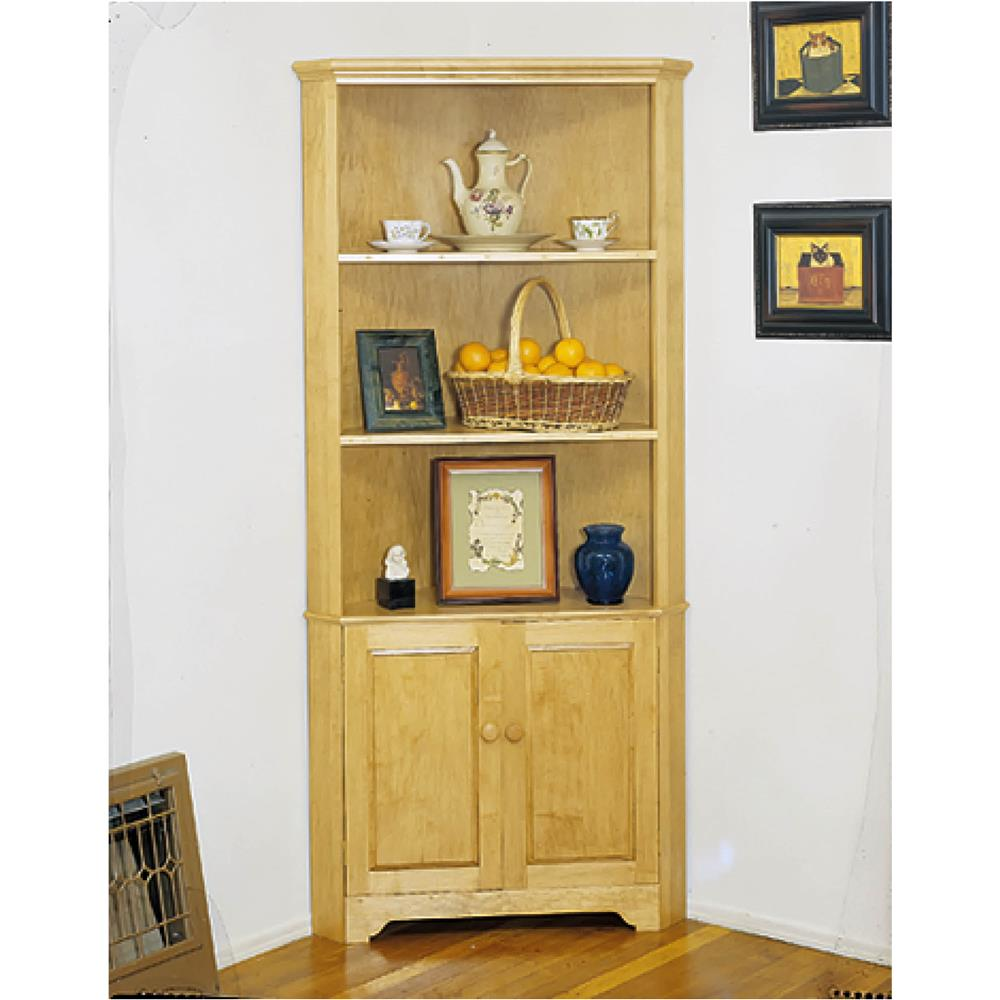 Grizzly Corner Cabinet Plans at Sears.com