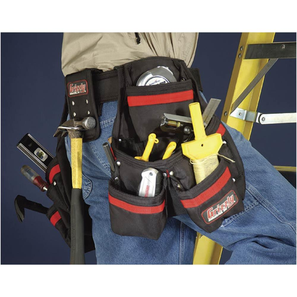 Grizzly Heavy-Duty Professional Tool Belt