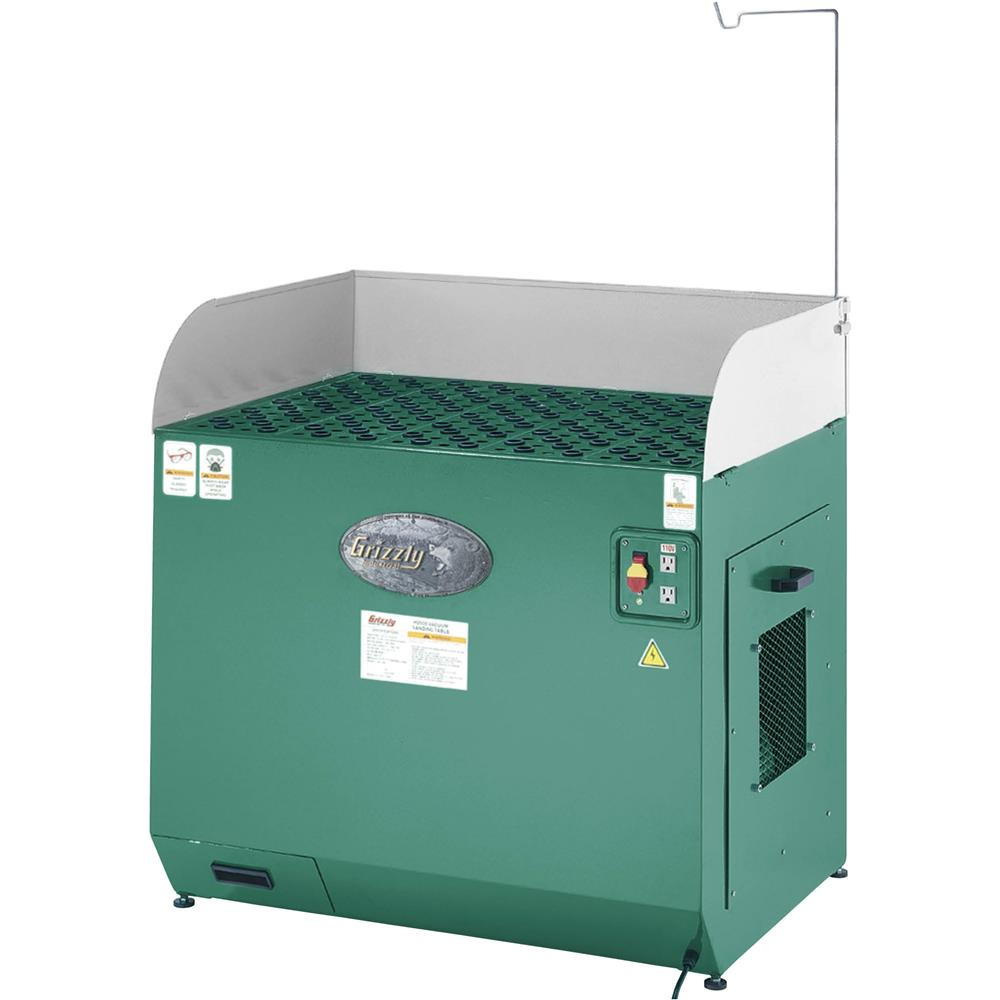 Grizzly H2936 28 Quot X 39 Quot Downdraft Table Jet Powermatic