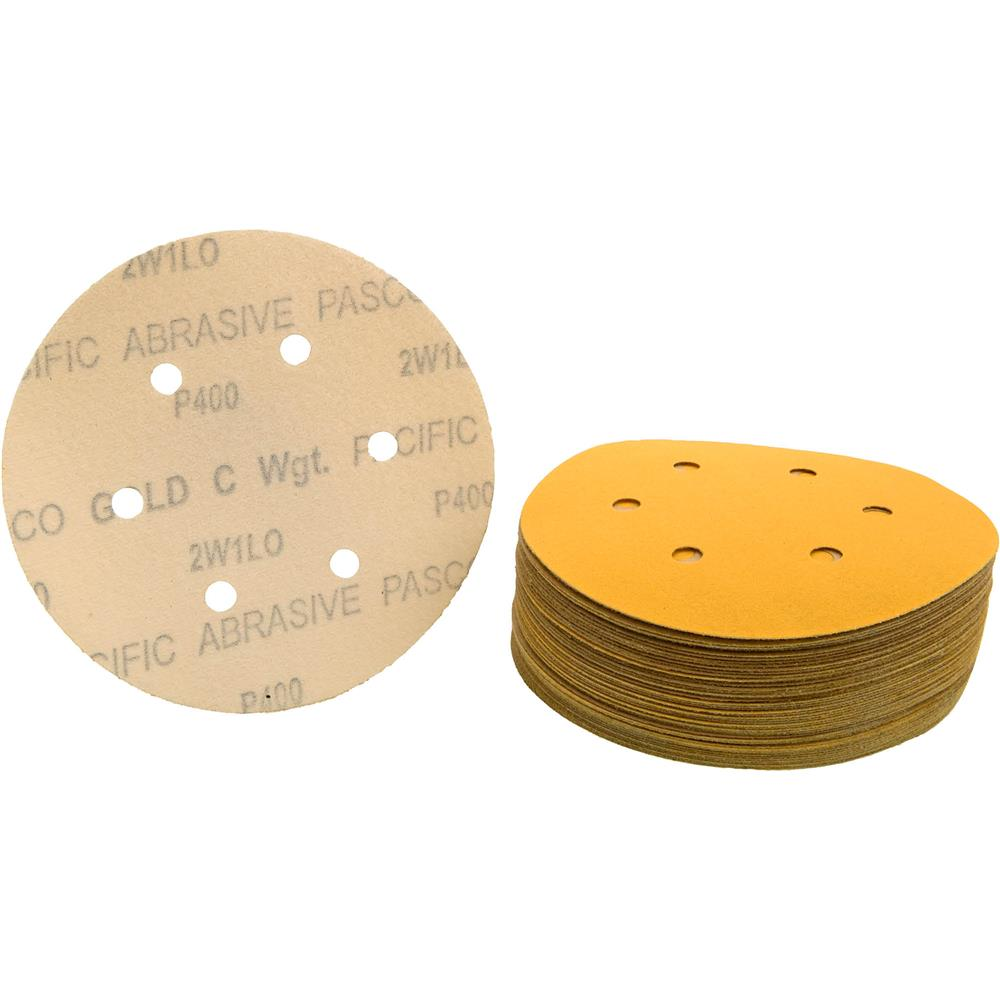 "Grizzly 6"" Sanding Disc, A280-C H&L 6 Hole, 50 pc. at Sears.com"