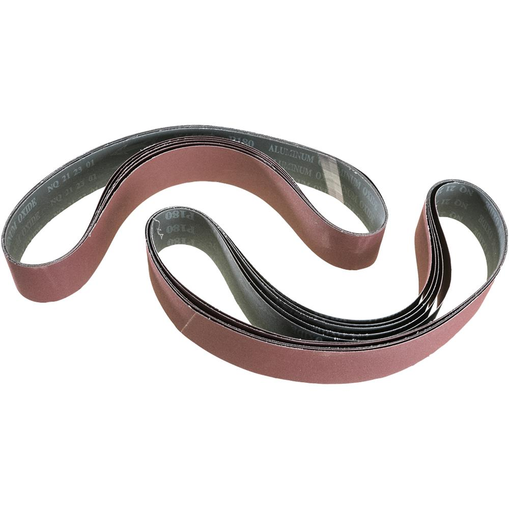"Grizzly 2"" x 42"" Aluminum Oxide Sanding Belt 180 Grit (10PK) at Sears.com"