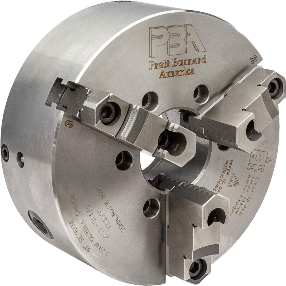 "Grizzly 3 Jaw Setrite Chuck, 10"" at Sears.com"