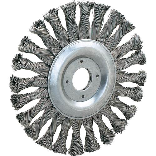 5 Quot Knotted Steel Wire Brush Wheel Grizzly Industrial
