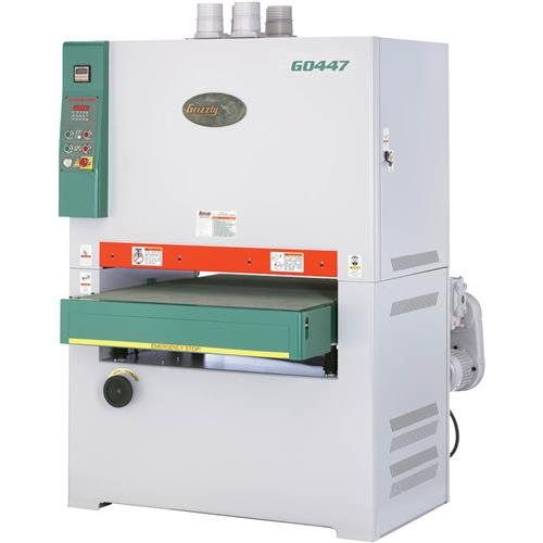 37 quot 20 hp 3 phase wide belt sander grizzly