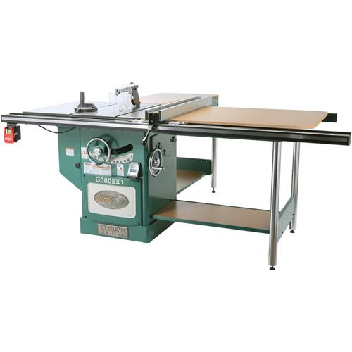 12 Extreme Table Saw 5hp Single Phase Grizzly Industrial