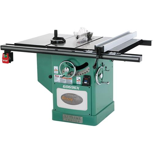 12 5 hp 220v extreme series left tilt table saw