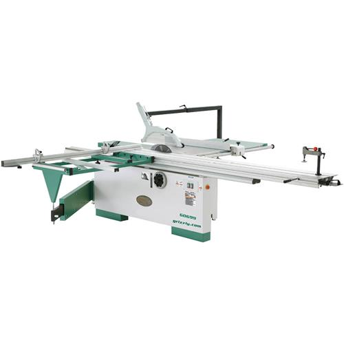 12 Sliding Table Saw With Scoring Blade Motor Grizzly Industrial