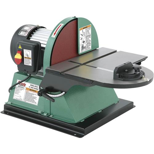 12 Quot Disc Sander With Brake Grizzly Industrial