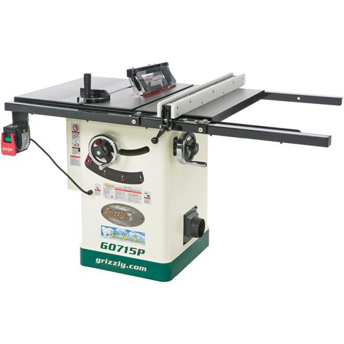 10 Hybrid Table Saw With Riving Knife Polar Bear Series Grizzly Industrial
