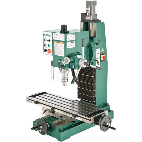 Heavy Duty Bench Top Milling Machine Grizzly Industrial