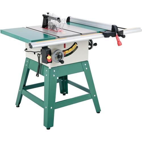 G0732 Grizzly 10 Contractor Style Table Saw With Riving Knife And Stand New Ebay