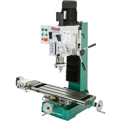 Heavy Duty Benchtop Mill Drill With Power Feed And Tapping