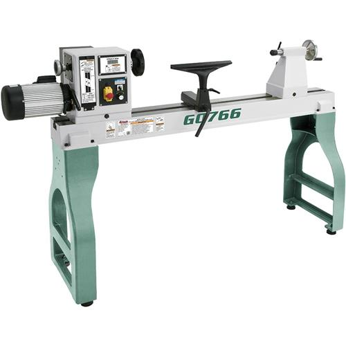 "G0766 Grizzly 22"" X 42"" Variable-Speed Wood Lathe"