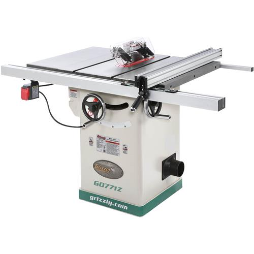 10 hybrid table saw with t shaped fence grizzly industrial for 10 hybrid table saw